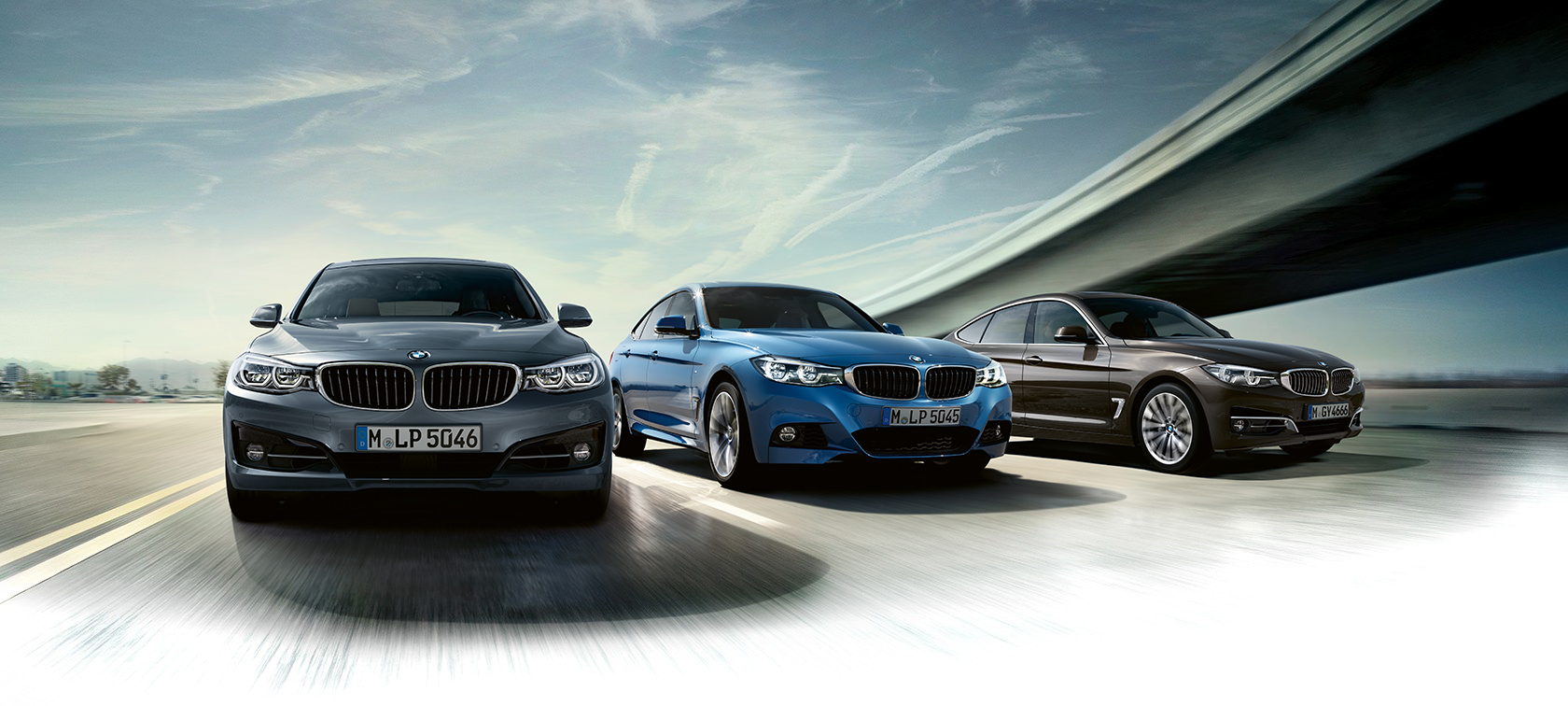 Lines & equipment for the BMW 3 Series Gran Turismo