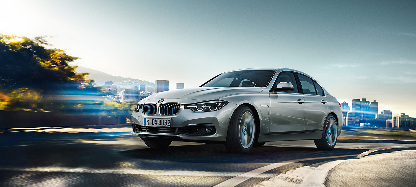 The BMW 330e iPerformance Sedan
