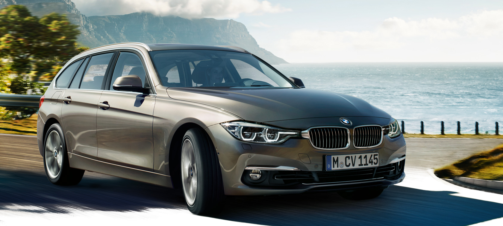 Driving Dynamics & Efficiency of the BMW 3 Series Touring