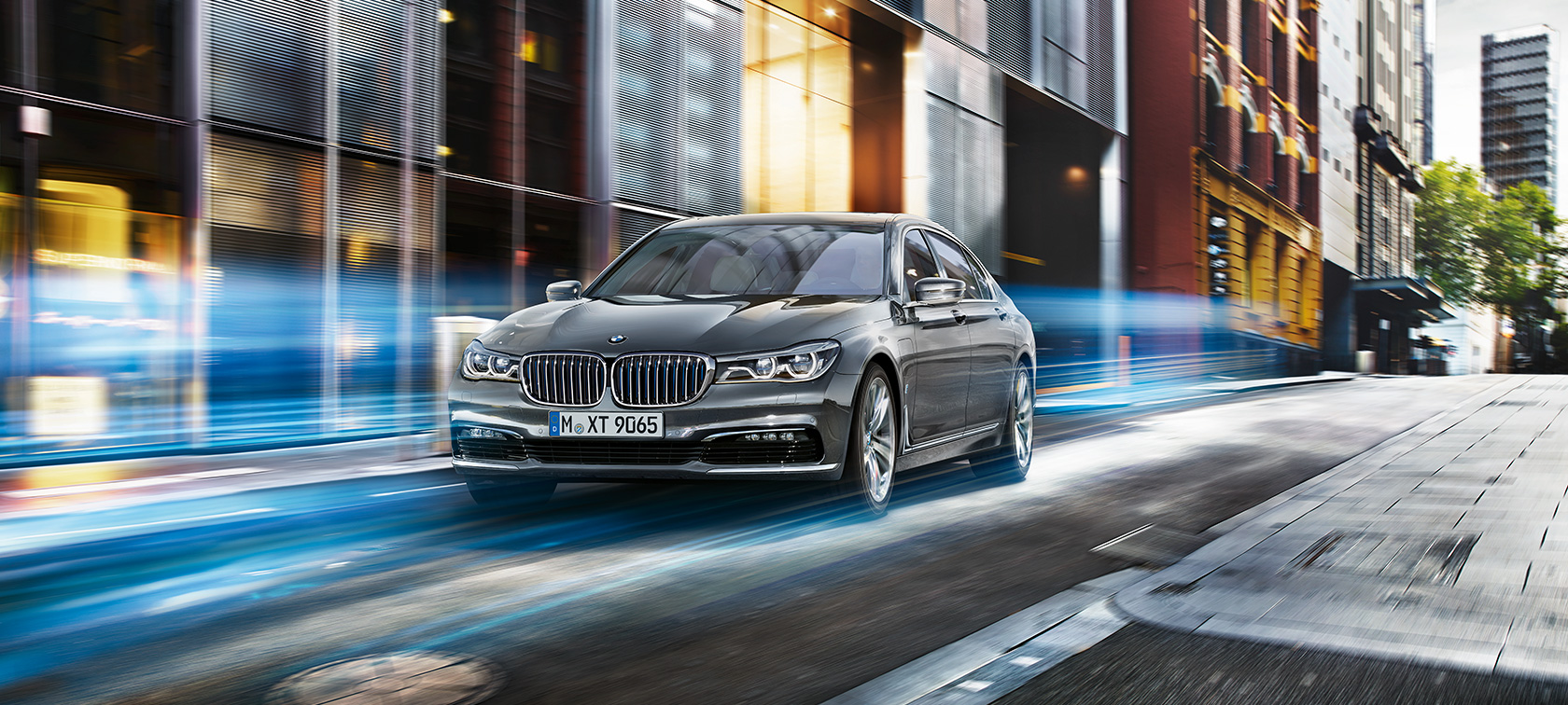 The BMW 7 Series with eDrive
