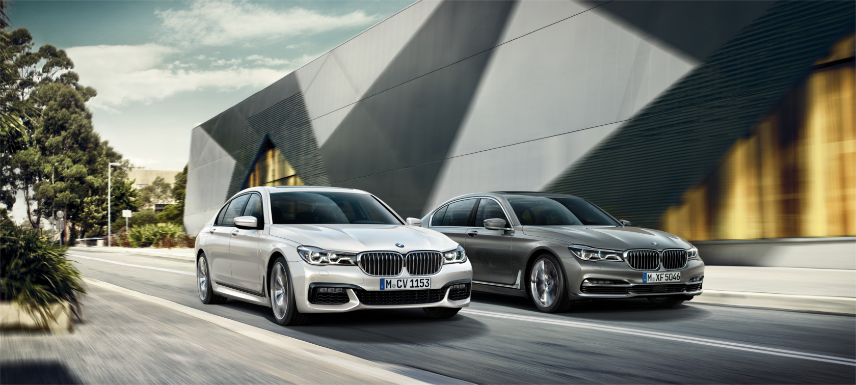 The equipment of the BMW 7 Series