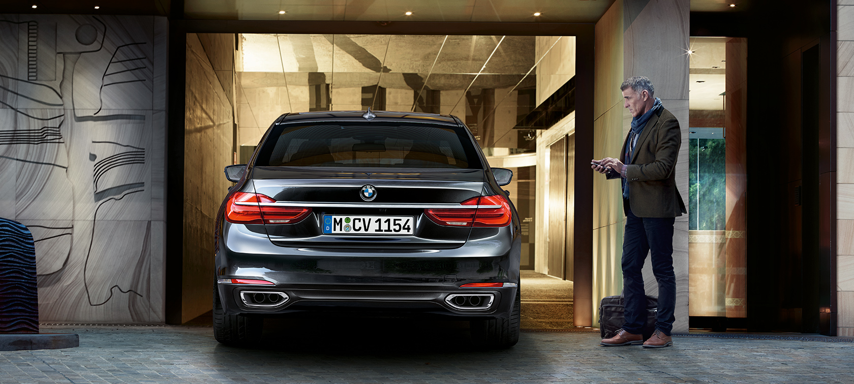 Innovative functionality in the BMW 7 Series
