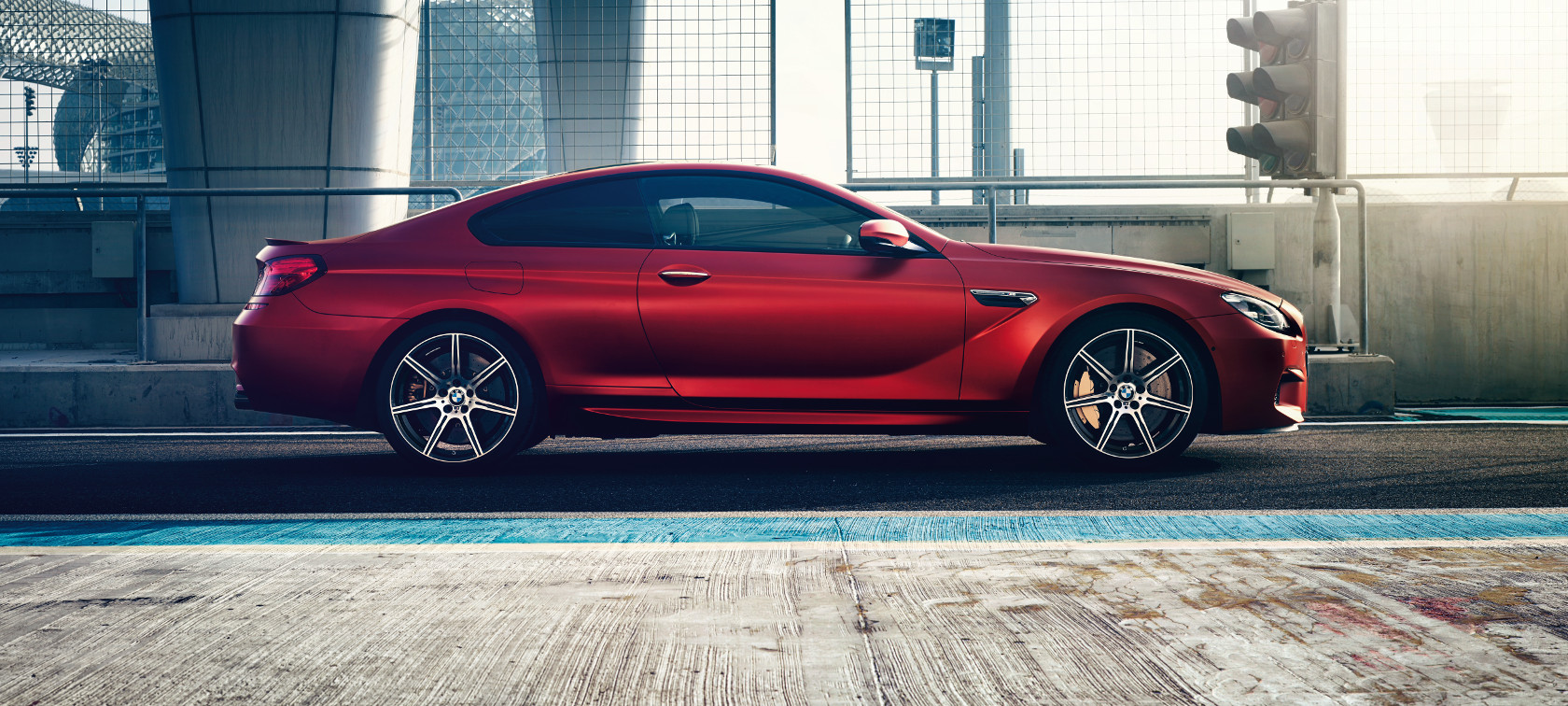 The design of the BMW M6 Coupé