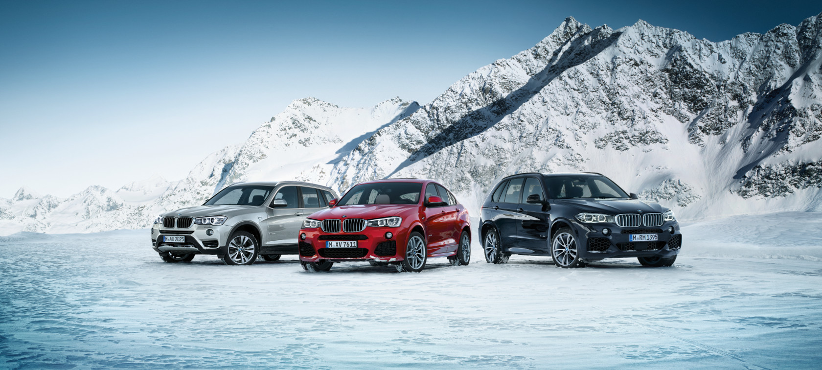 BMW vehicles with xDrive